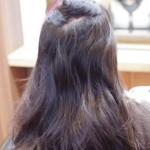 ストパーしてるのに 内側の髪がうねる・・・