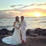 場末のぢ〜ぢ ハワイで結婚式に出席する