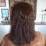 毎回毛先まで 縮毛矯正やヘアカラーを・・・