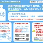 界面活性剤も、新型コロナウイルスに有効である?